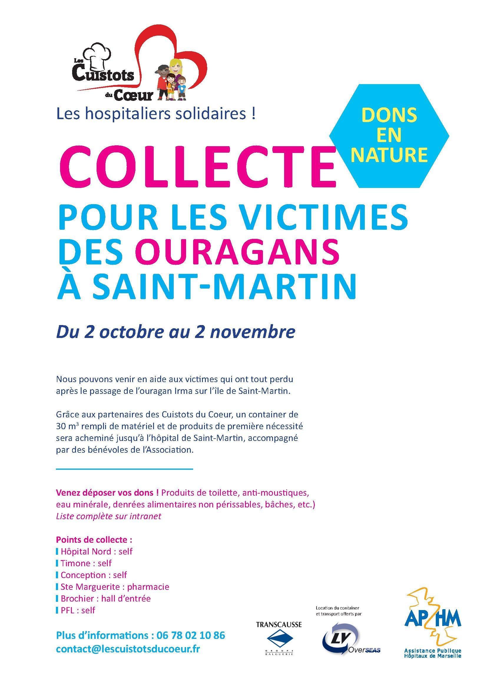 Lancement d'une action humanitaire au profit de l'hopital Saint Martin
