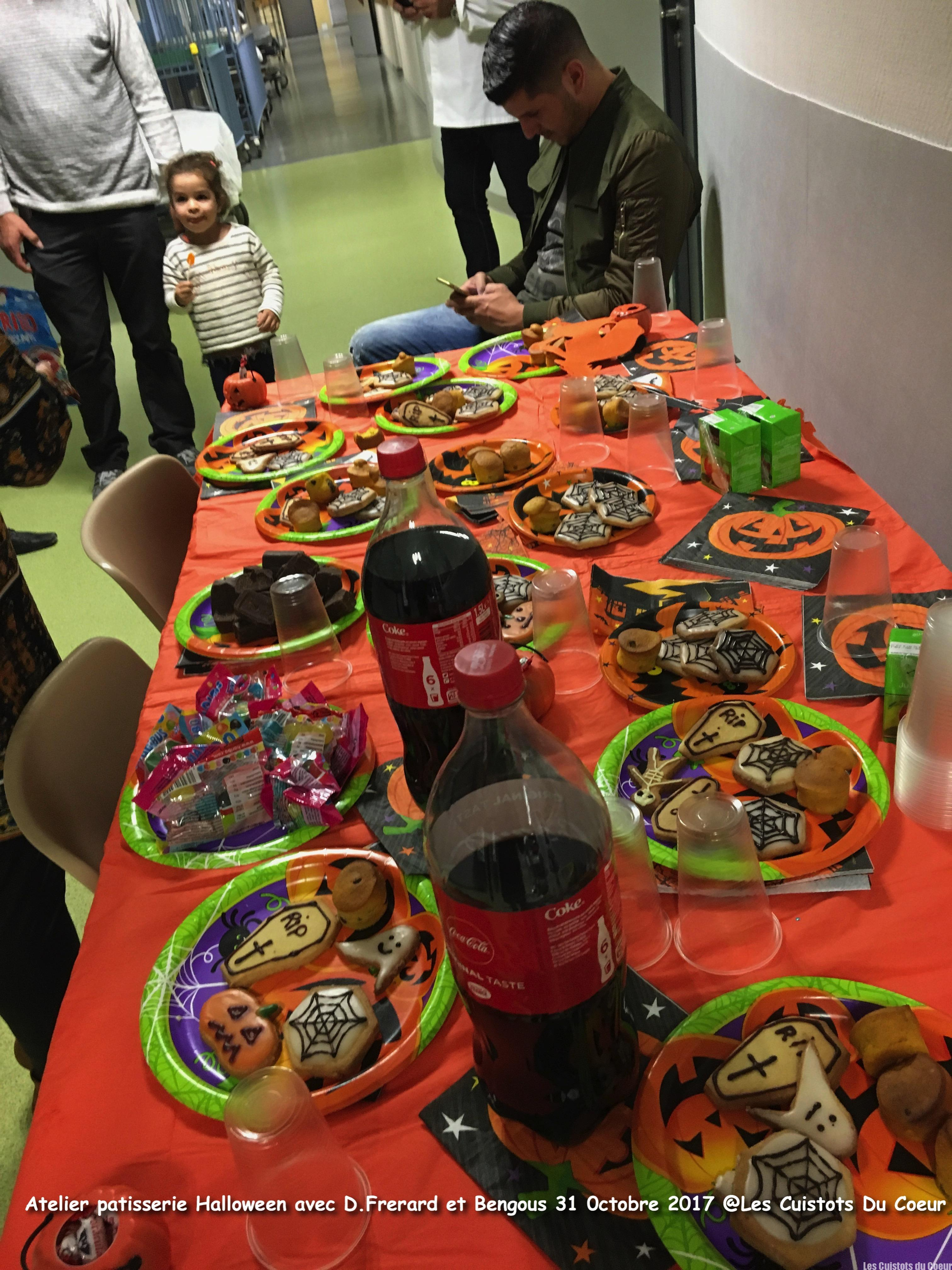 Atelier Patisserie pour Halloween