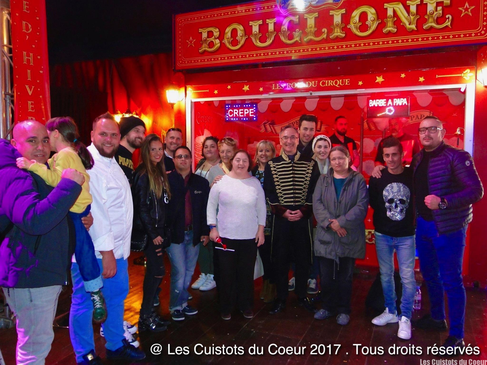 Les Cuistots du Coeur au Cirque Bouglione