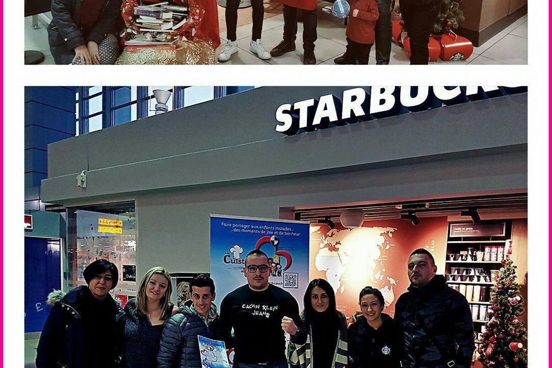 Journée solidarité au Starbucks coffee !