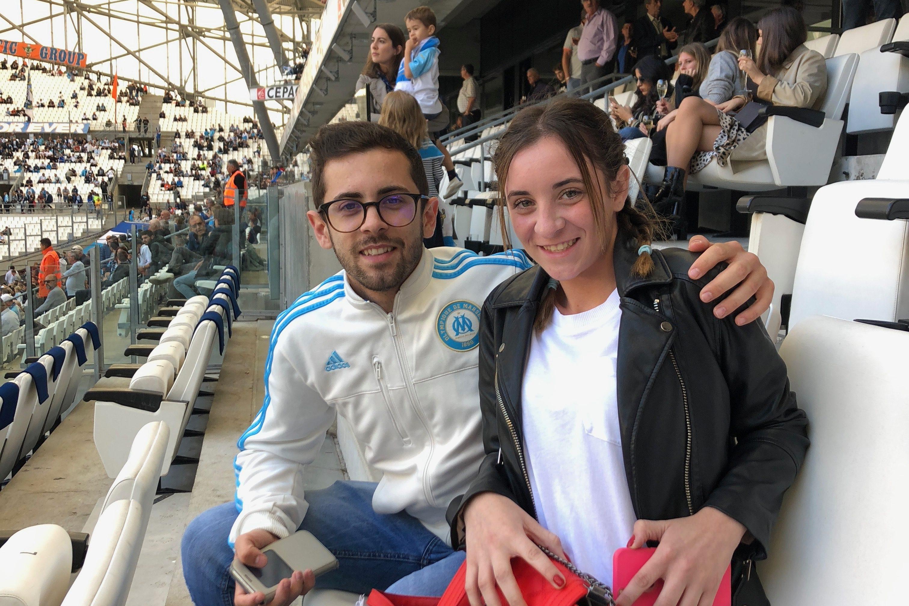 Le reve de Laurena à l'Orange Vélodrome !