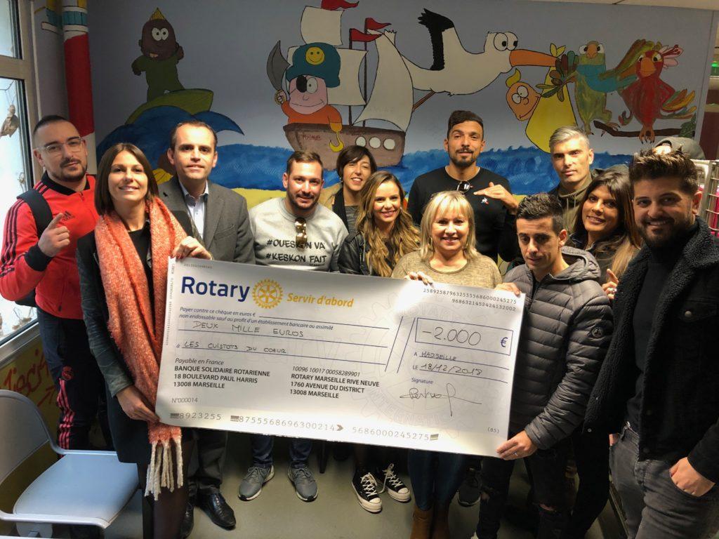 Le grand et beau geste du Rotary Marseille Rive Neuve !