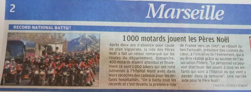 Journal La Provence 24 Décembre 2018