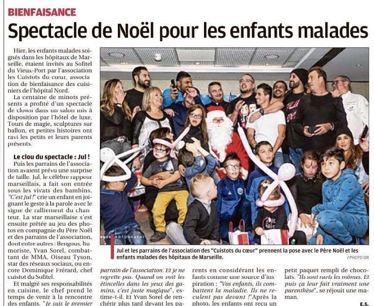 Journal La Provence 20 Décembre 2018