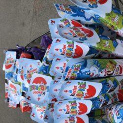 Des centaines de chocolats pour les enfants hospitalisés !
