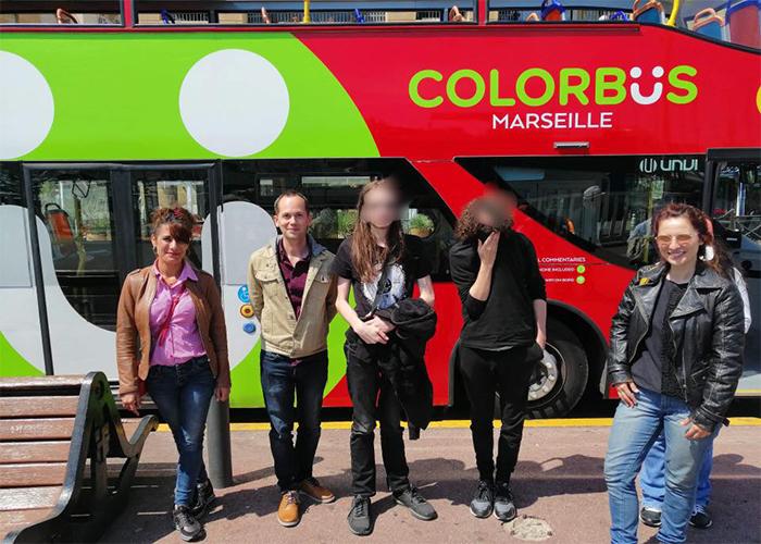 Une après midi à bord du Colorbus !