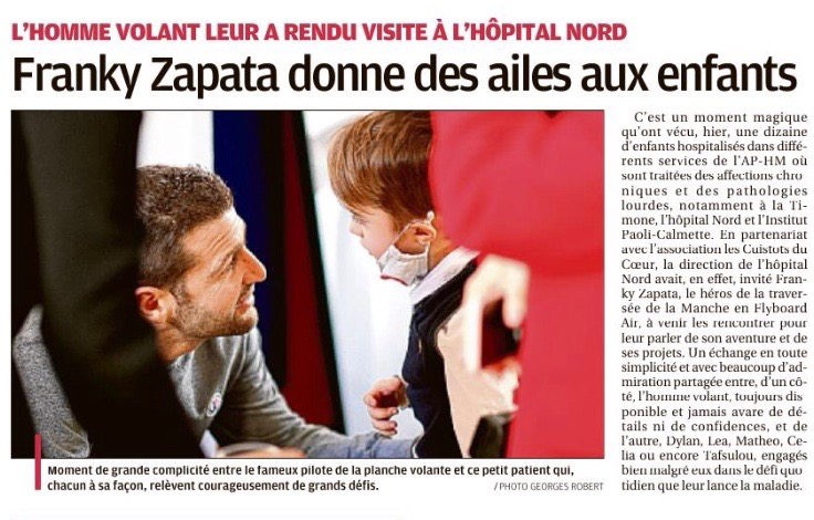 Journal La Provence 13 Février 2020