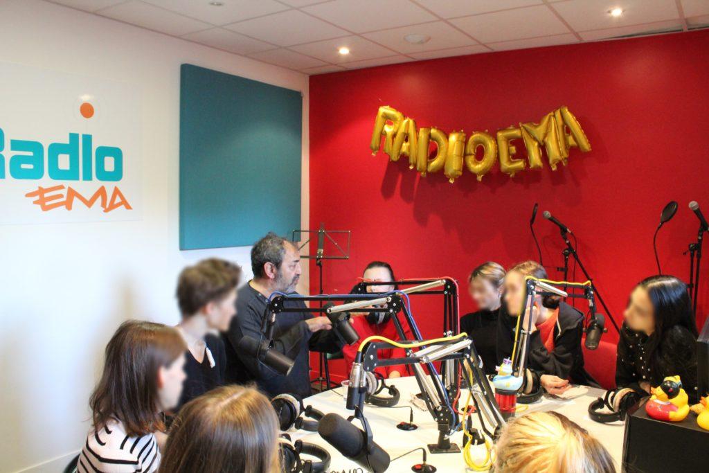 L'acteur Moussa Maaskri à Radio EMA !