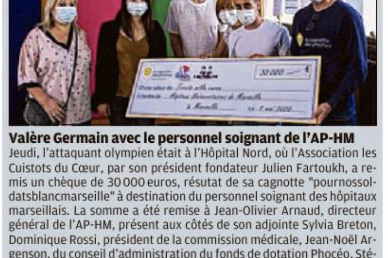 Journal La Provence 9 Mai 2020