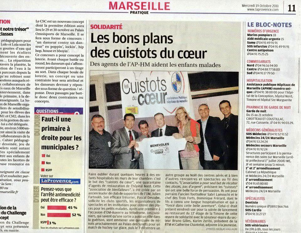 La Provence 19 Octobre 2011